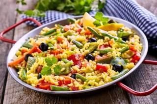 Настоящая вегетарианская паэлья